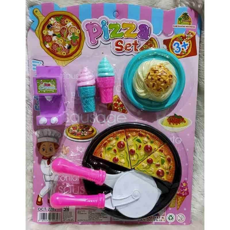 Jual Mainan Masak Masakan Pizza Dan Spaghetti Online Oktober 2020 Blibli Com