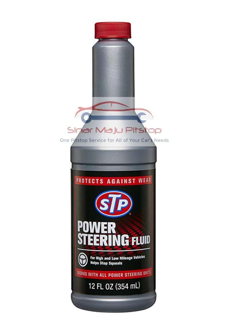 Jual Stp Power Steering Fluid 354 Ml Cairan Minyak Oli Power Steering Mobil Original Online Februari 2021 Blibli