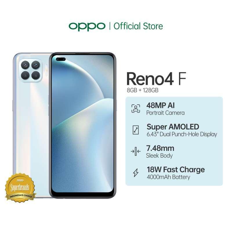 OPPO Reno4 F Smartphone [128GB/ 8GB]