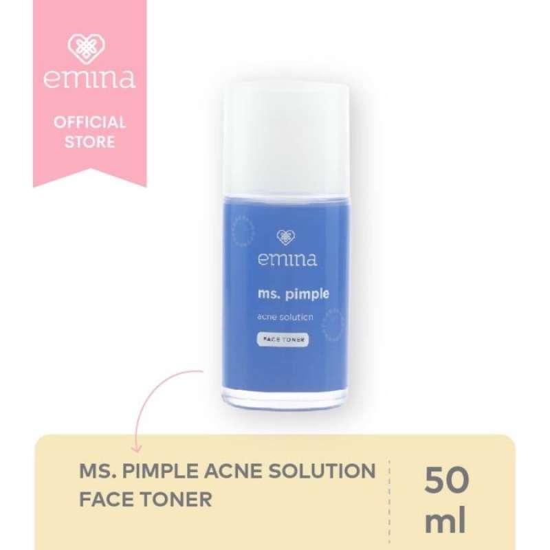 Emina Ms Pimple Acne Solution Face Toner 50 mL