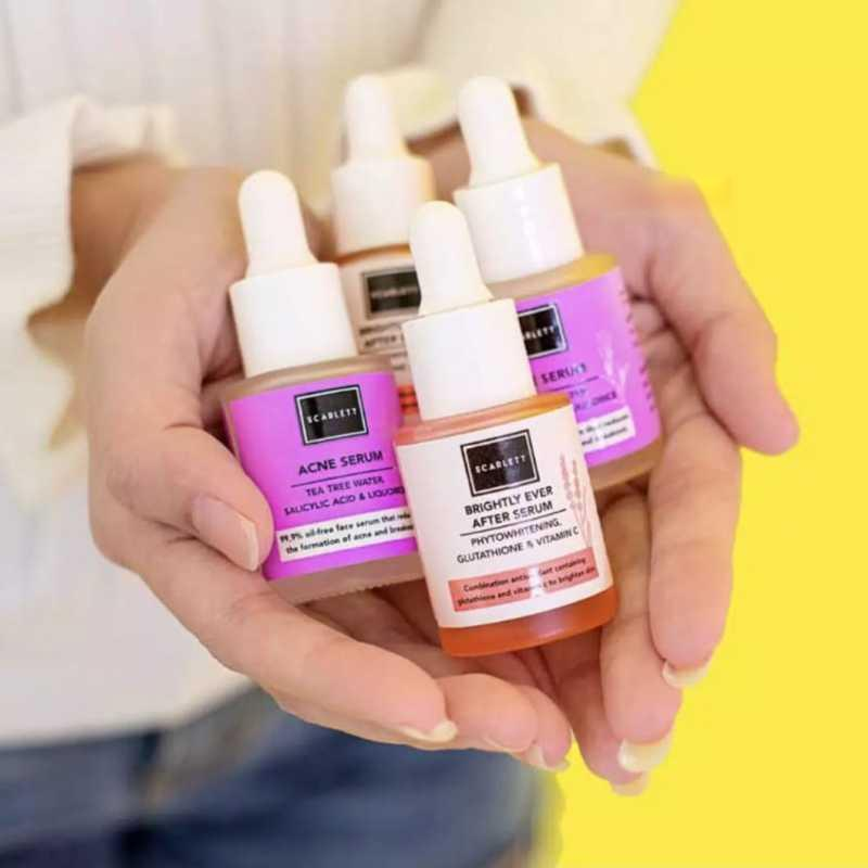 Scarlet Whitening Brightly Ever After Serum Whitening Acne Serum