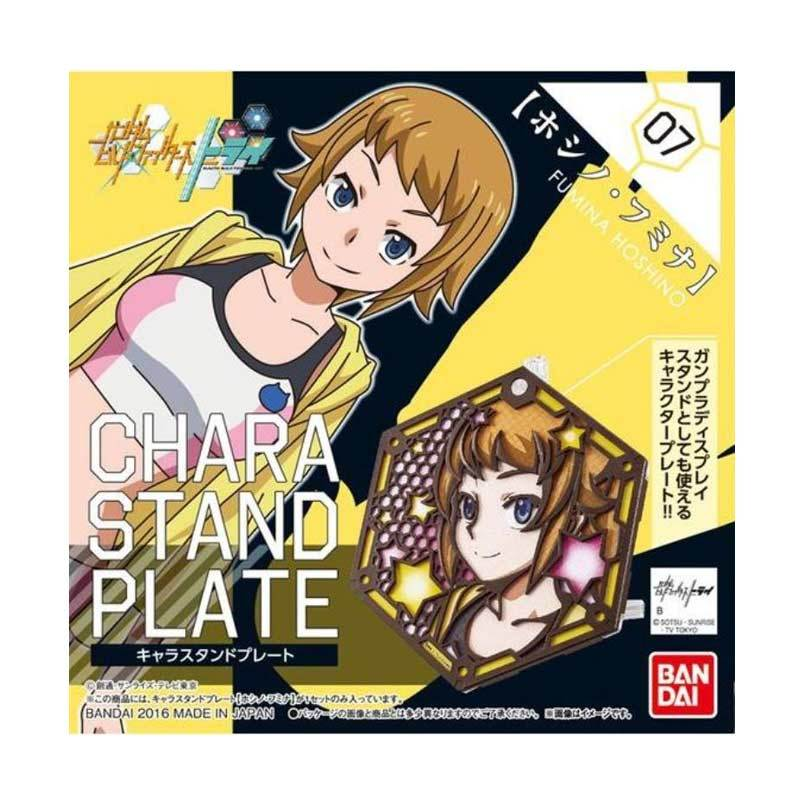 Bandai Chara Stand Plate Hoshino Fumina Model Kit