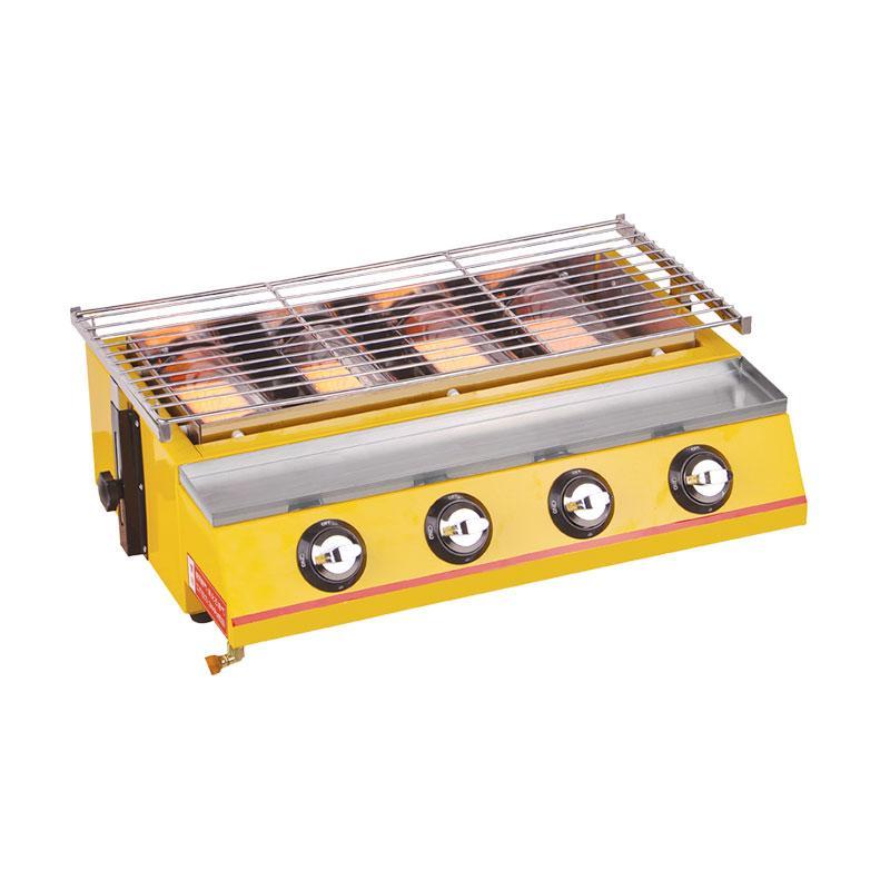 harga Crown Horeca Gas Roaster 4 Burner Ros-222 Pemanggang Blibli.com