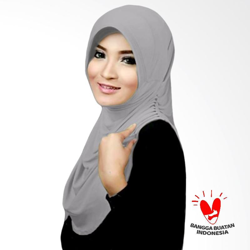 Milyarda Hijab Instant Rumana - Silver