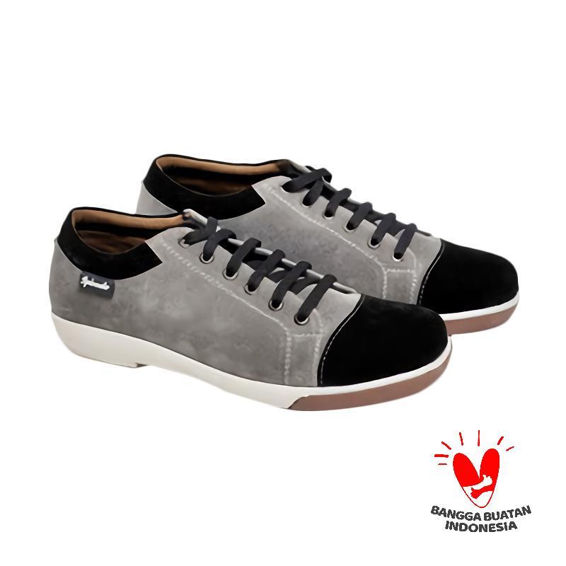 Spiccato SP 541.04 Sepatu Casual Pria - Grey Black