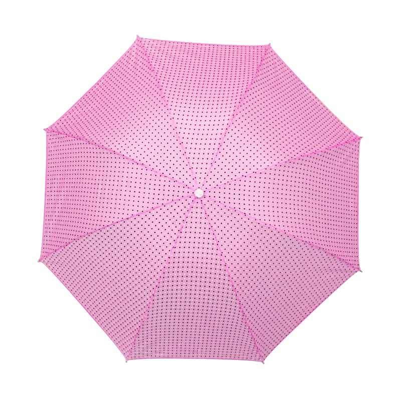 Adelaides Walet Tipe 304 UV Payung Lipat - Pink