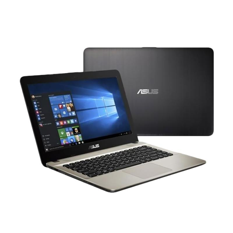 Asus X441UA-WX095T Notebook - Black [14 Inch/i3-6006U/4GB/Win 10]