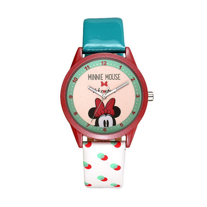 Disney MS11062-W Minnie Jam Tangan Wanita - Putih