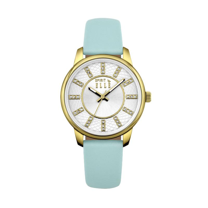 Elle Spirit ES20094S04X Leather Strap Watches - Blue