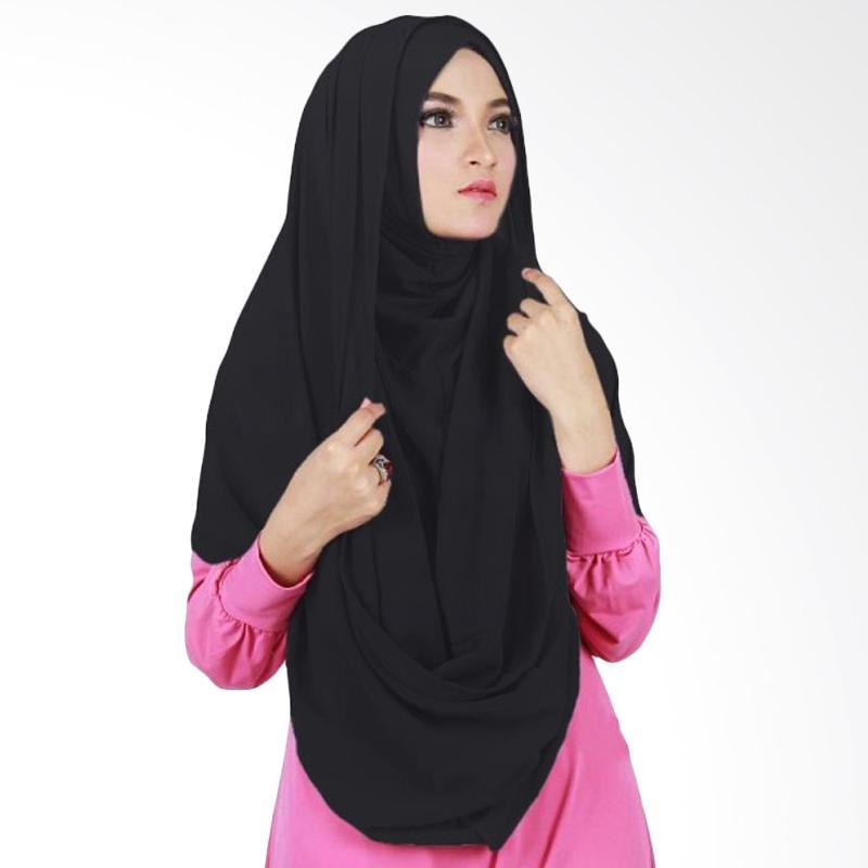 Milyarda Hijab Sirhood Kerudung - Hitam