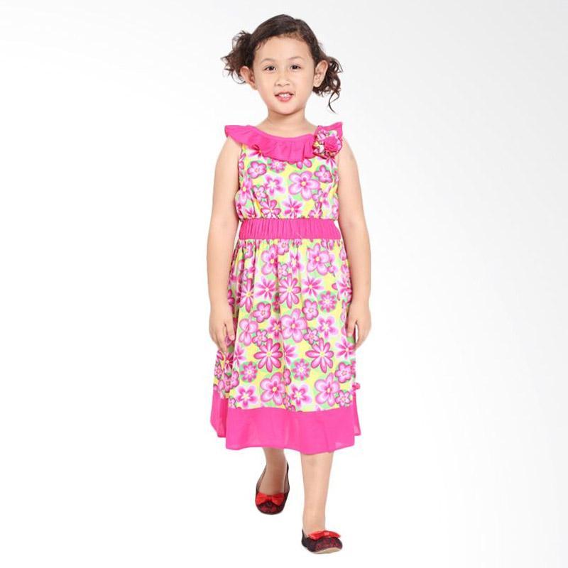 Pretty Girl 2CHANTIKA Dress Anak - Pink