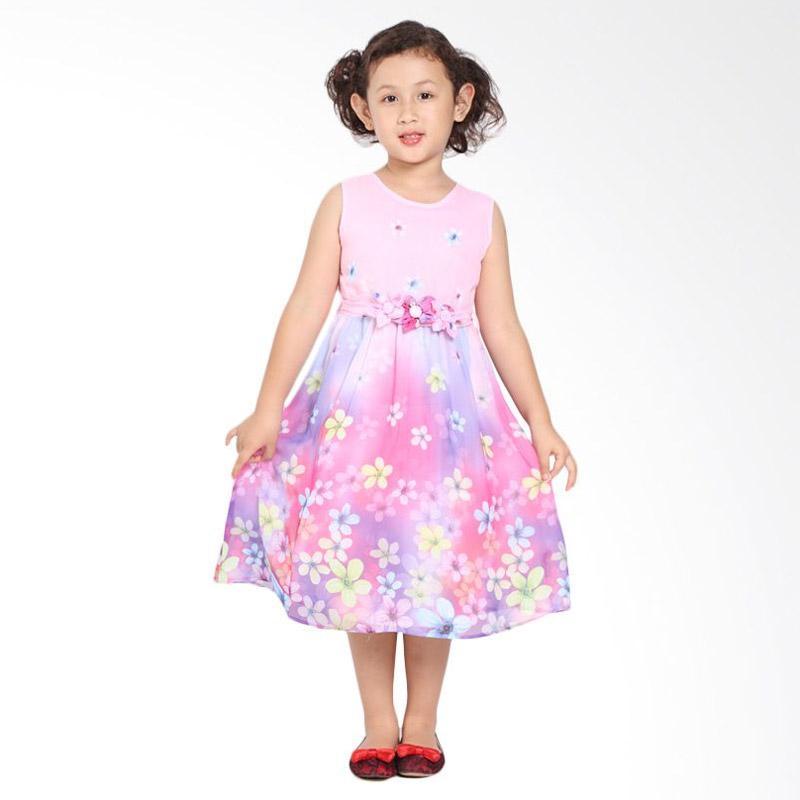 Pretty Girl 2YURIKA Dress Anak - Pink