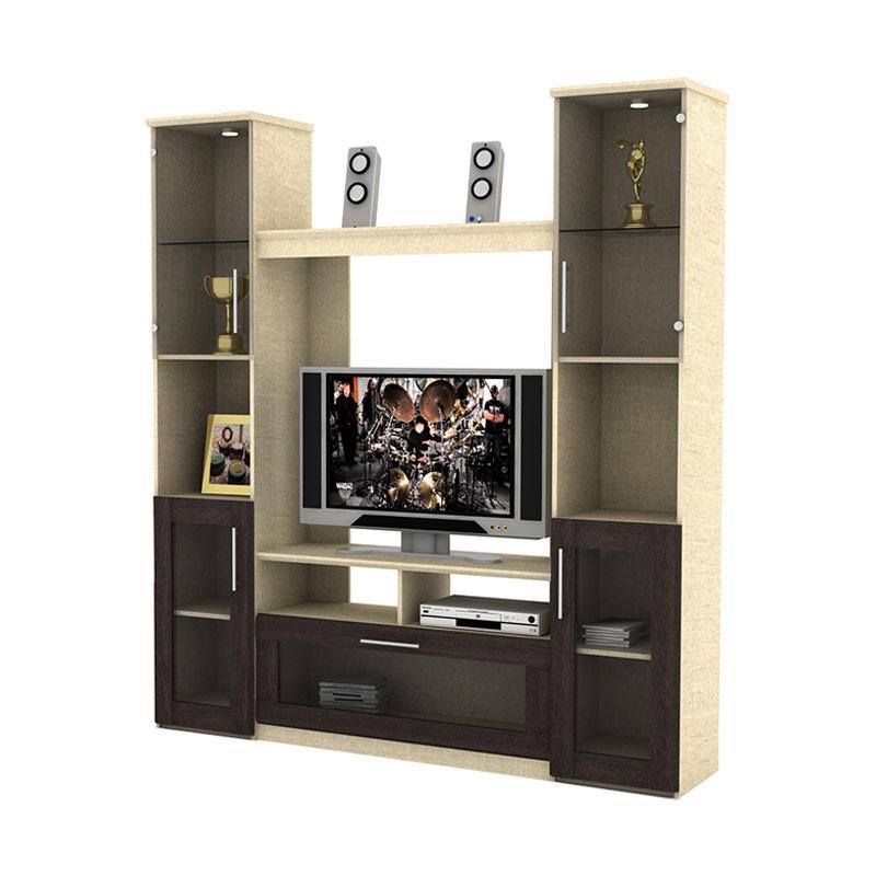 Prissilia Beijing Display Cabinet - Tecido