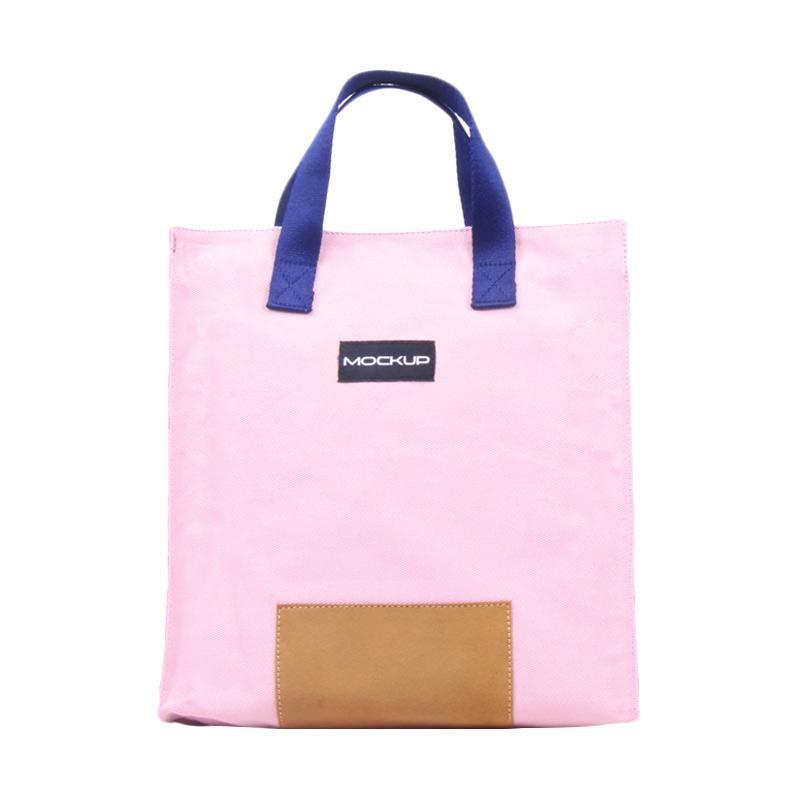 Mockup BGO.12 Mini Tote Bag Tas Wanita - Baby Pink