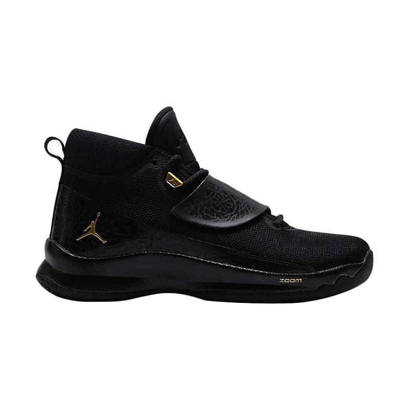 da495d1e2596 Jual nike jordan super fly 5 po sepatu basket black 881571 015 cek ...