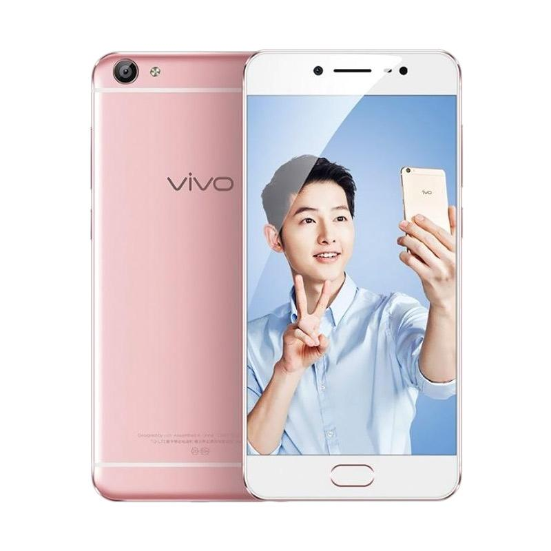 harga VIVO V5 Smartphone - Rose Gold [32GB/ 4GB] free speaker Bluetooth Blibli.com