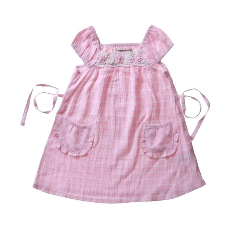 Bearhug Dress Bayi Perempuan - Pink Salem [1-3 Thn]