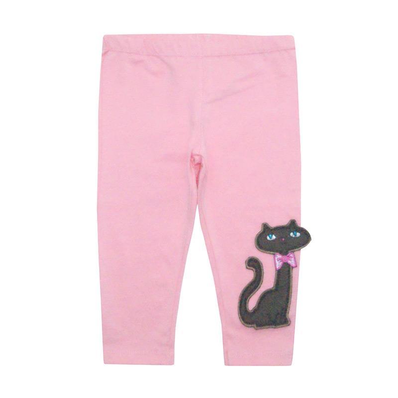 Bearhug Kucing Legging Bayi Perempuan - Pink