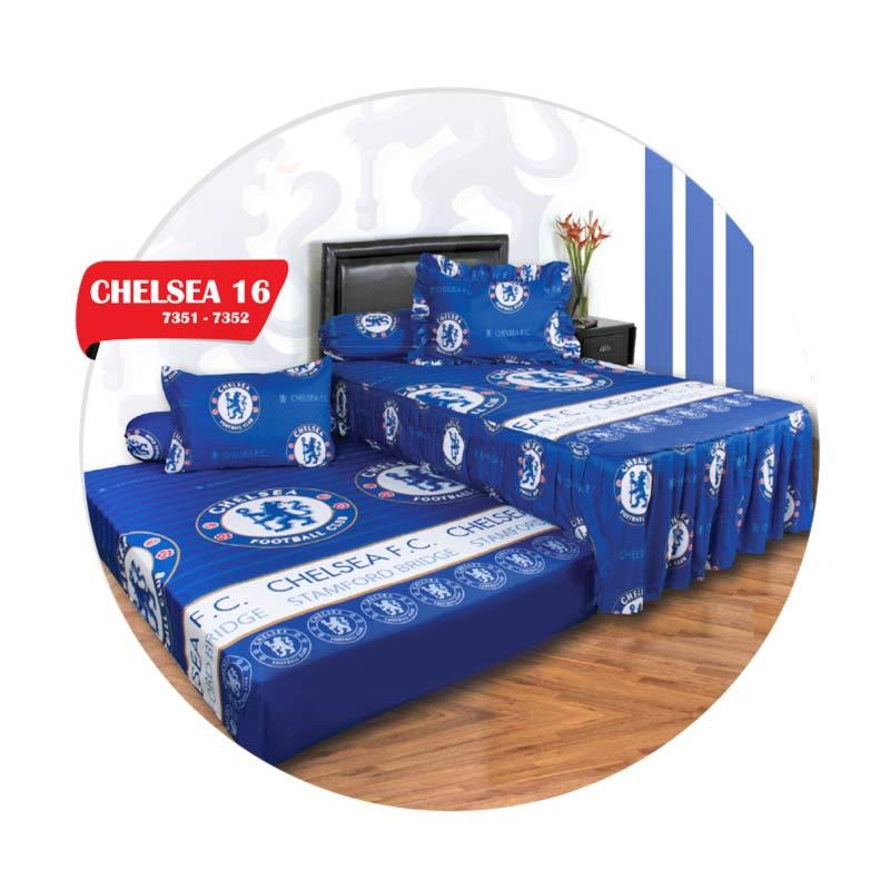 California Duo Motif Chelsea 16 Set Sprei [120 x 200 cm]