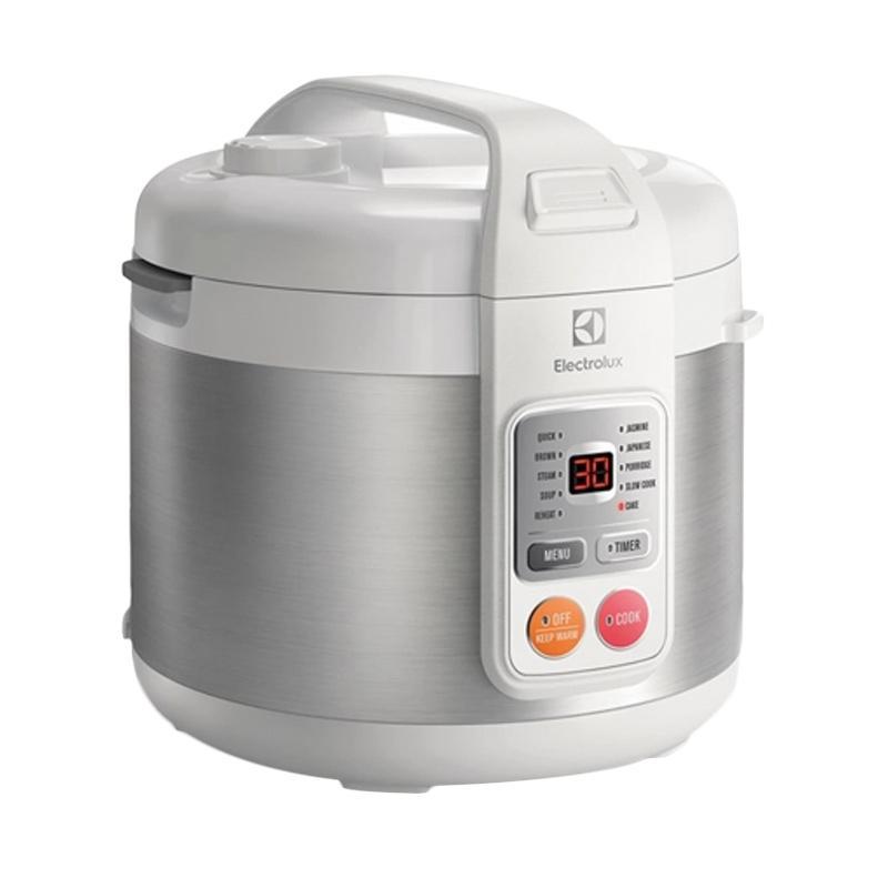 Electrolux ERC3505 Rice Cooker - Silver [1.8 L]