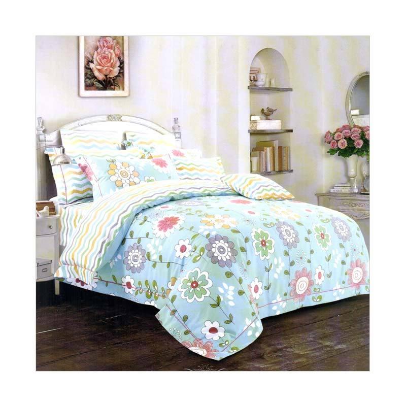 harga Melia Bedsheet J-3241 Katun Jepang Set Sprei Blibli.com