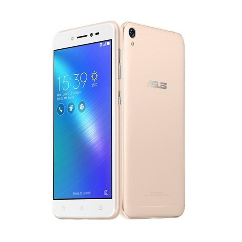 Asus Zenfone Live ZB501KL Smartphone - Gold [16GB/ 2GB/ Free Tongsis]