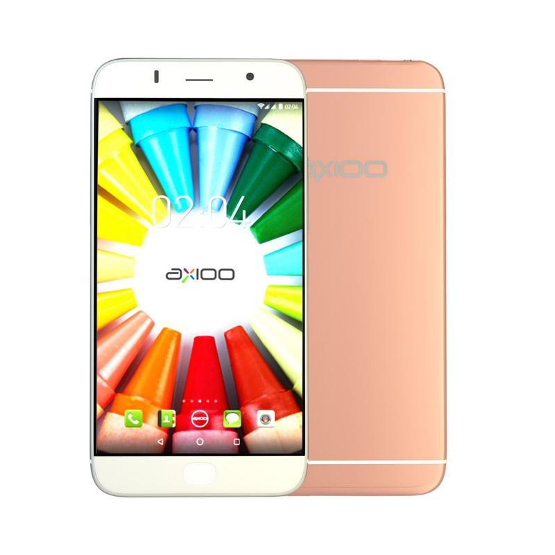 Axioo Picophone M5 Smartphone - Rose Gold [8 GB/1 GB]