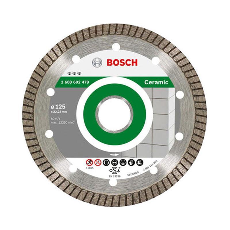 Bosch Best Ceramic Turbo Perkakas Mesin - Abu Tua