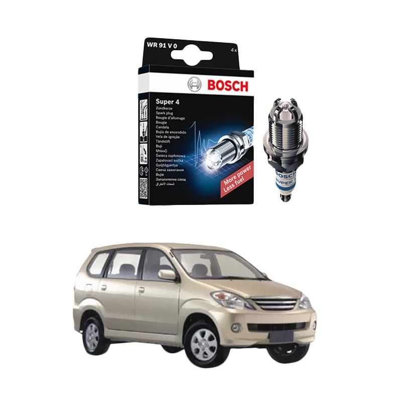 Bosch Super 4 FR78 Busi Mobil for Daihatsu Xenia 2006