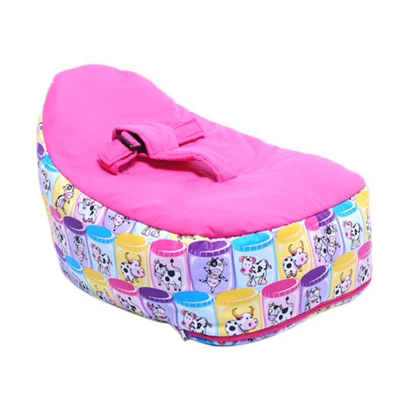 Kelvin's Beanbag Cow Tempat Tidur Bayi - Fanta