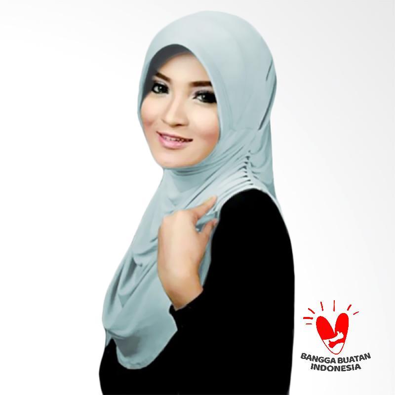Milyarda Hijab Rumana Jilbab Instant - Baby Blue
