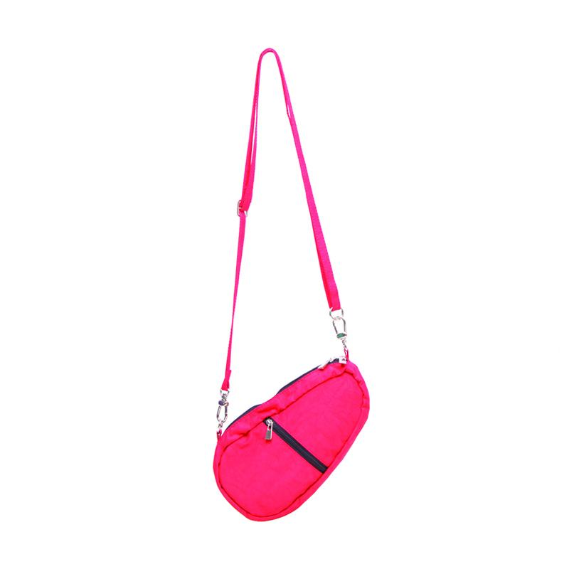 Mini Bean Sling Bag Mockup BSL.02-Tas Unisex-Red