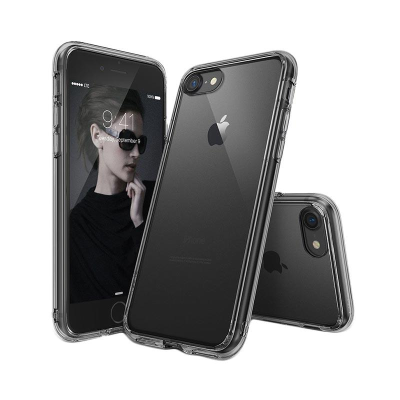 Rearth Ringke Fusion Casing for iPhone 7 - Smoke Black