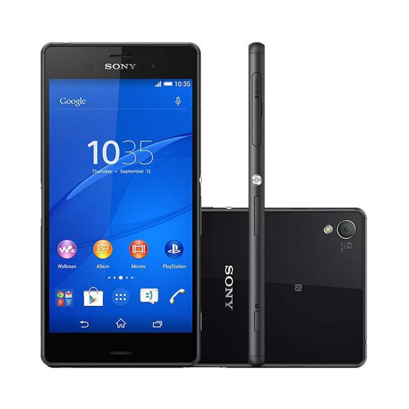 SONY Xperia Z3 Plus Smartphone [32GB/RAM 3GB/Single SIM] - Black