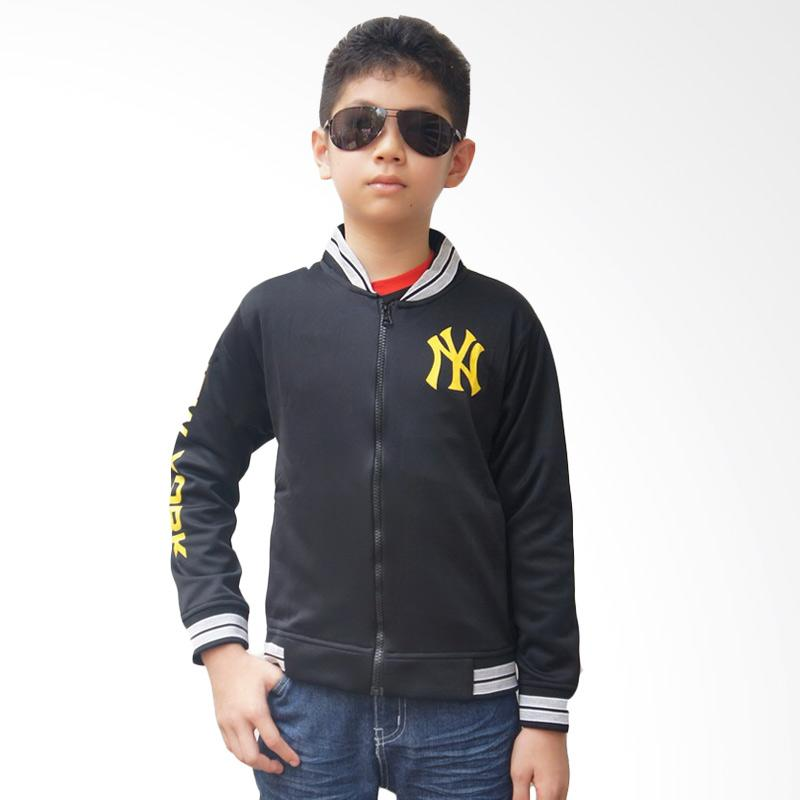 Chloebaby Shop F711 New York Jaket - Hitam
