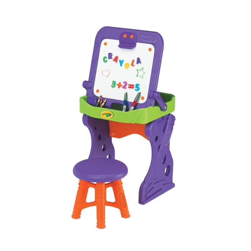 Grow 'n Up No. 5003-01 Crayola First Art Studio Meja Mainan Anak