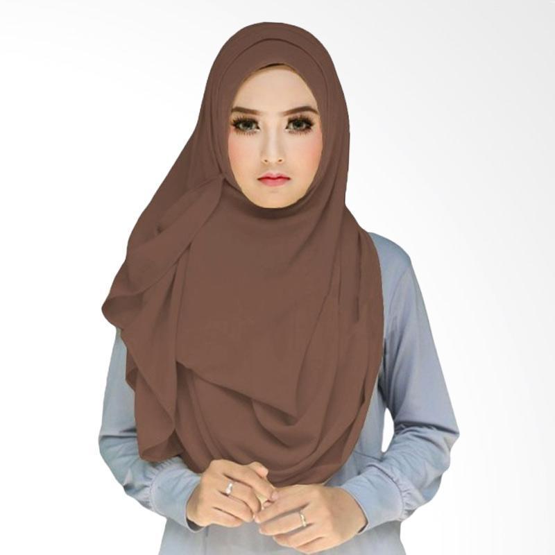 Kus Group Hijab Tazkia Kerudung - Coklat