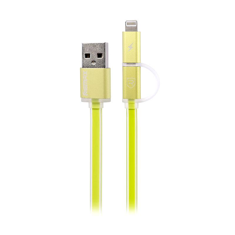 Remax 2 in 1 Aurora Series Cable Data & Charging - Green