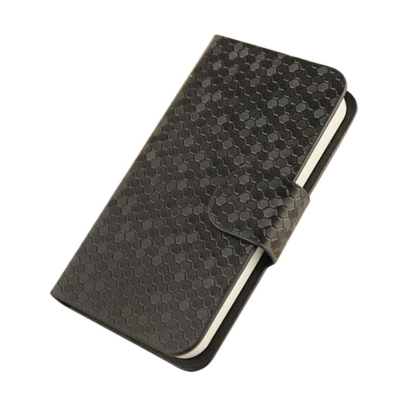 OEM Case Glitz Cover Casing for HTC One 10 or M10 - Hitam
