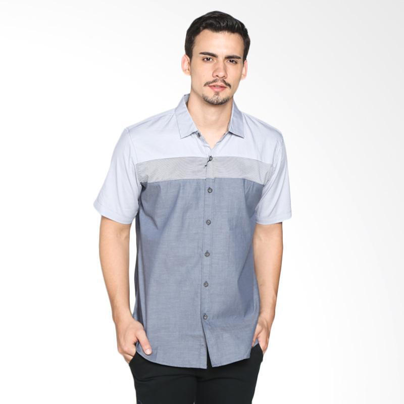 Red Cliff ZB1884JF Smart Casual Shirt - Grey Black Extra diskon 7% setiap hari Citibank – lebih hemat 10% Extra diskon 5% setiap hari