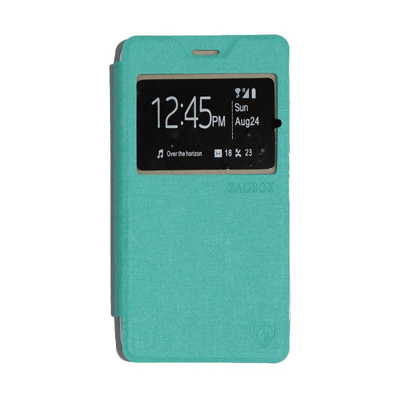 ZAGBOX Flip Cover Casing for Lenovo A6600 - Tosca