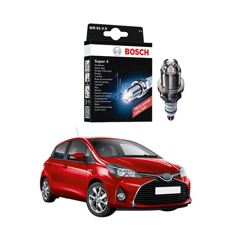 Bosch Super 4 FR78 Busi Mobil for Toyota Yaris