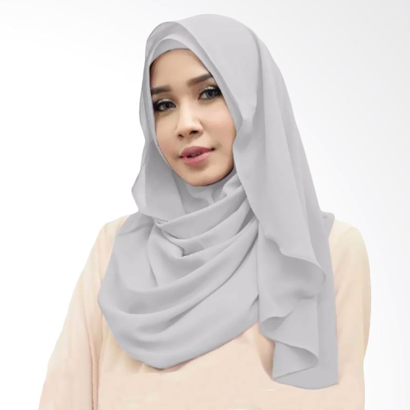 Kus Group Orchid Hijab Instant - Silver