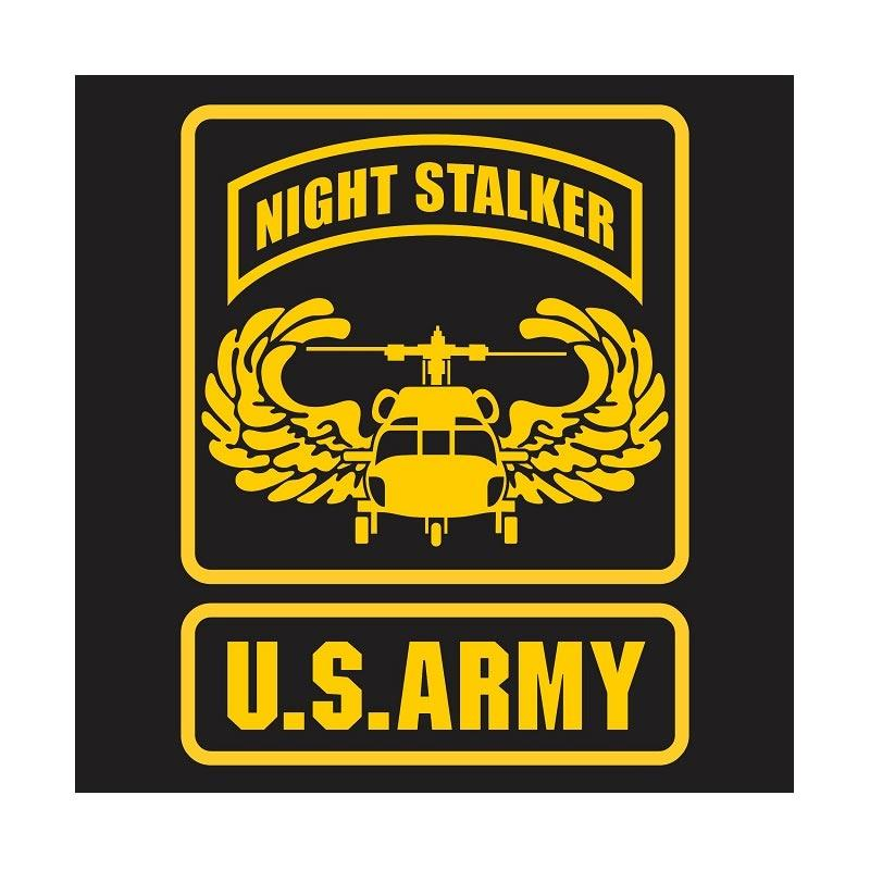 Kyle US Army Night Stalker Wing Cutting Sticker