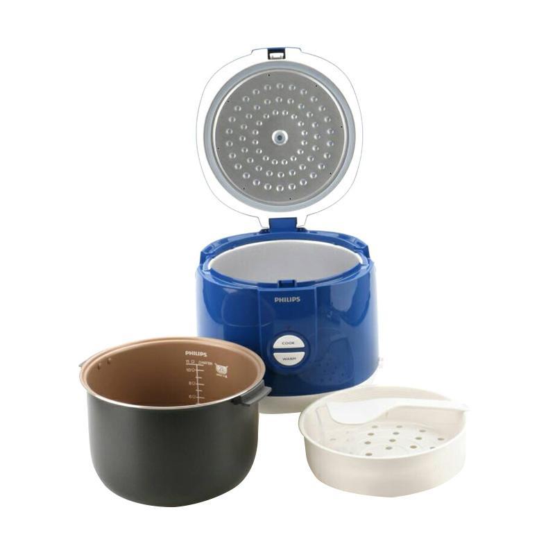 Jual Philips HD 3127/31 Magic Com Rice Cooker - Biru [2 Liter]