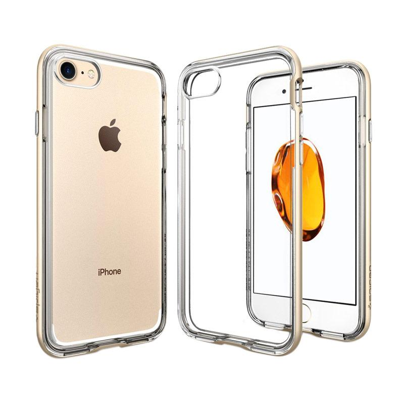 Neo Hybrid Crystal Casing for for iPhone 7 - Champagne Gold