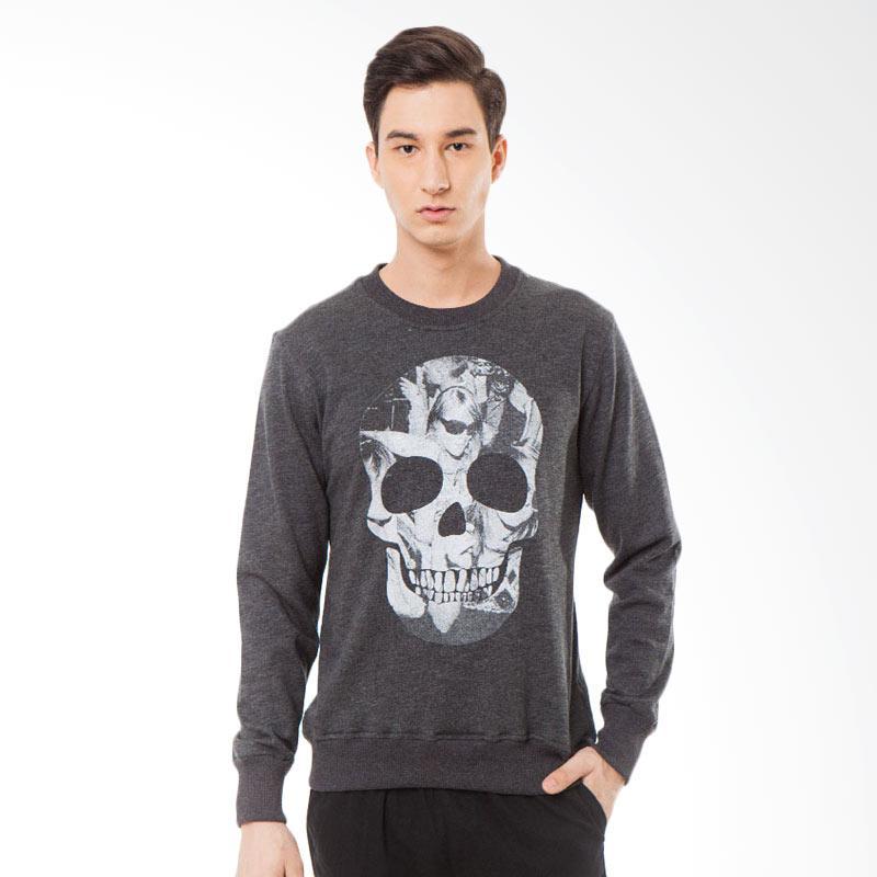 Svperbia Misty Black Skull Rave Sweater
