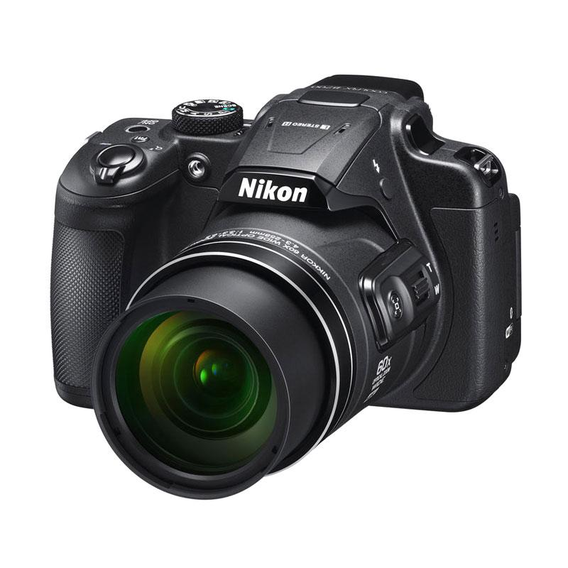 Nikon Coolpix B700 Kamera Prosumer - Black + Free LCD Screen Guard