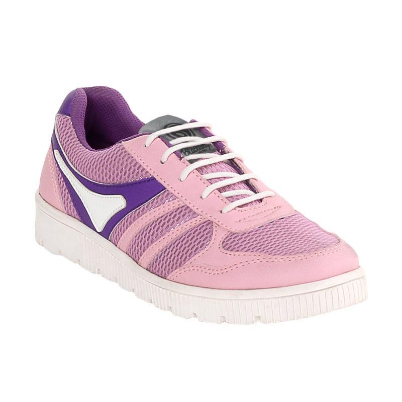 Blackkelly LCA 873 Jacqueline Sepatu Olahraga Wanita - Purple Pink