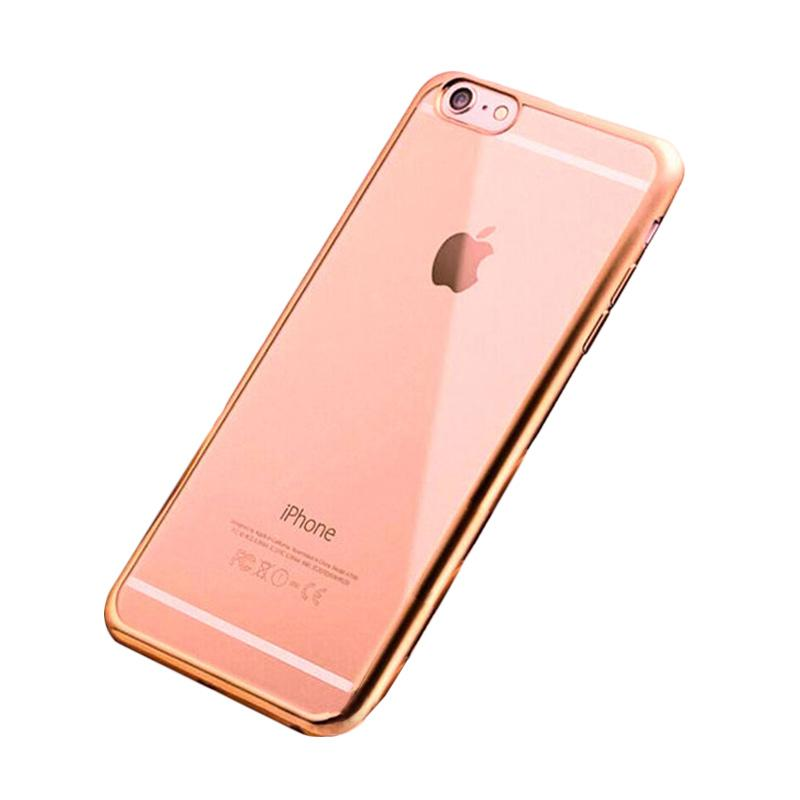 Likgus Tough Shield Casing for iPhone 5 or 5S - Rose Gold